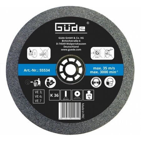 Brusný kotouč Güde 150 mm/K36