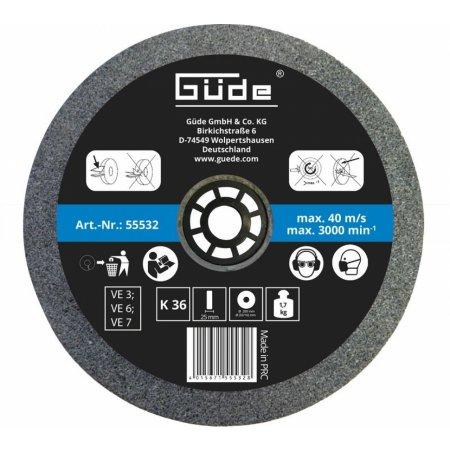 Brusný kotouč Güde 200 mm/K36