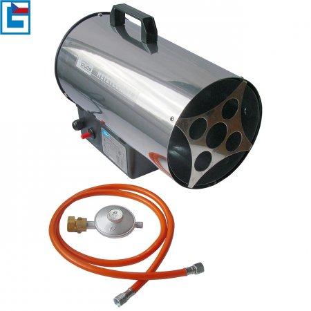 Horkovzdušná plynová turbínaGGH 10 INOX Güde